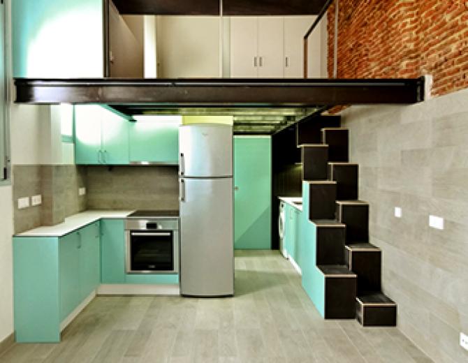 Escaleras de cocina pedestales domsticos acero hierro for Escalera de cocina plegable